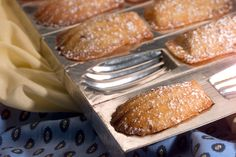 Maple pecan madeleines
