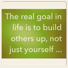 The real GOAL!