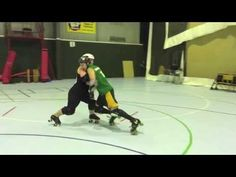 Roller Derby Resistance/Agility Thirty 3's - Get game fit with Sausarge Rolls #11 - YouTube