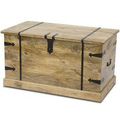 drewniana rustykalna skrzynia kufer drzewo mango