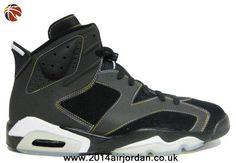 Air Jordan 6 (VI) Retro Lakers Black/Varsity Purple-White-Varsity Maize