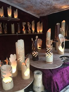 Bamboo Light, Bamboo Lamp, Pvc Pipe Crafts, Wood Crafts, Pillar Candles, Candle Jars, Picnic Decorations, Bg Design, Pvc Projects