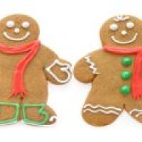 Easy Gingerbread Cookies - not sure about the butterscotch pudding mix in these cookies, that's a new one to me, but they sound easy so it's perhaps worth a try. Easy Gingerbread Cookies, Holiday Cookies, Gingerbread Man, Gingerbread Recipes, Christmas Treats, Christmas Baking, Christmas Fun, Christmas Parties, Bread Dough Recipe