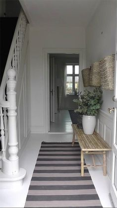 Nice hallway and bannister