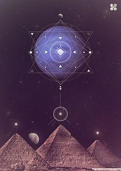 Geometry and the Great Pyramids of Giza