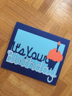 Bday Card - It's Your Bday