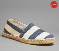 Striped Espadrille for Men | Marco Collection