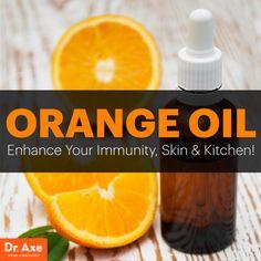 Orange oil - Dr. Axe http://www.draxe.com #health #holistic #natural