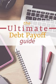 How to pay off debt quickly + tips for staying debt free once you get there. Great advice!