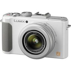Panasonic Lumix DMC-LX7 Digital Camera (White) $350, Leica lens - great glass