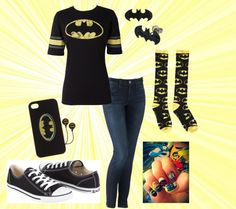 """""""Biff!"""" Batman outfit."""