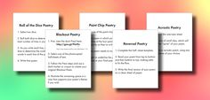 Five Ready-To-Use Poetry Stations   Laura Randazzo – Solutions for the Secondary Classroom