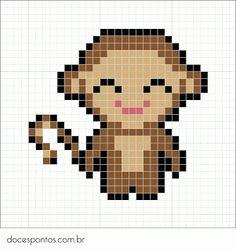 Doces Pontos: Monkey pattern