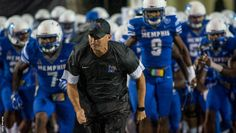 Coach Norvell Memphis Tigers   (See 09.17 Memphis Football Sights and Sounds-Tigers Defeat UCLA)