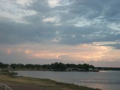 Storms clouds off in the distance. Pic was taken at the lake in San Angelo,TX, looking southward.