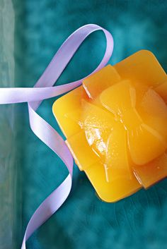 Orange apple agar agar jelly ♥ Dessert