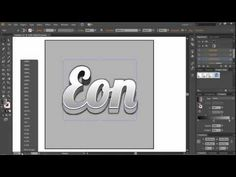 How To Make Good Looking 3D Text In Adobe Illustrator CS6! - YouTube