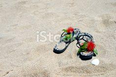 Jandals in the Sand with Pohutakawa Royalty Free Stock Photo Kiwiana, Christmas Background, Beach Photos, Image Now, Royalty Free Stock Photos, Photography, Christmas Scenery, Photograph, Fotografie