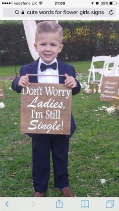 Ring Bearer Signs/ Ringbearer Sign/Flower Girl Signs/Wedding Entrance/Wedding Ceremony Prop/Wedding Sign/Rustic Wedding/Country Wedding - These wood signs are such a cute way to have your ring bearers or flower girls enter and/or exit yo - Cute Wedding Ideas, Wedding Goals, Perfect Wedding, Our Wedding, Wedding Planning, Dream Wedding, Wedding Inspiration, Trendy Wedding, Camo Wedding
