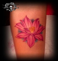 Pink Lotus #Flower #Tattoo #Pink