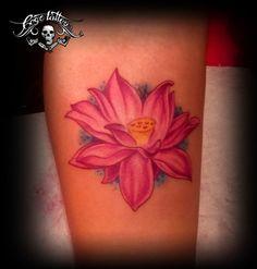 Pink Lotus #Flower #Tattoo #Pink