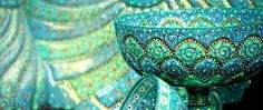 Minakari art, Iranian handicraft.
