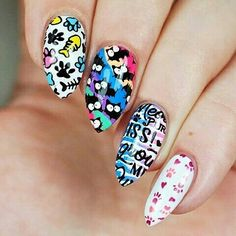 Crazy #Cats frm #instagram #stampednails #stampart #stampingplates #mani #nailart #naildesigns #nails #stamped