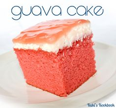 Kuki's Kookbook, I LOVE guava cake and all her hawaiian recipes have turned out perfect!