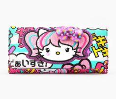 16771f50f63a Super kawaii Hello Kitty Japanimation wallet Sanrio Shop