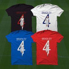 USA's Michael Bradley T-Shirt - USMNT Player - Custom Apparel soccer,  world cup tshirt, Bradley tee, usmnt tshirt by Graphics17 on Etsy