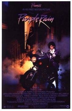 Prince fans are about to get a chance to own an essential piece of the Purple One's film career. In two months, the black and white motorcycle jacket that Prince wore in his 1984 movie Purple Rain will be going to auction. Prince Purple Rain, Purple Rain Movie, Sheila E, Pet Shop Boys, Pop Rock, Rock Roll, Blues Rock, Stevie Wonder, 80s Musik
