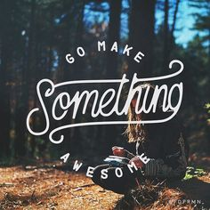 Do it, do it now. Type by @fdprmn_   #typegang if you would like to be featured   typegang.com