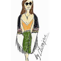 #fashion #illustration #autumn