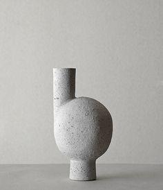 Matthias Kaiser; Glazed Ceramic 'Wayward Kasai' Vase, 2013.