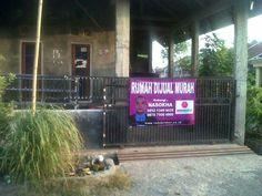 Contoh Spanduk Rumah Ini Dijual - contoh gambar banner