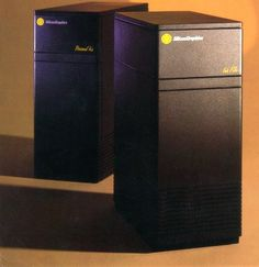 "SGI Personal IRIS: In 1984 SGI produced systems that, then, could only be dreamed about. I have one of these and it still works and can cook 3d images on the fly. It looked like a tower block from ""Brazil"" and can heat a theatre on its own."