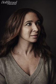 Maya Rudolph, Photo by Austin Hargrave Big Nose Beauty, Maya Rudolph, Julie Delpy, Amy Poehler, The Hollywood Reporter, Stuff And Thangs, I Icon, Famous Faces, Beautiful Celebrities