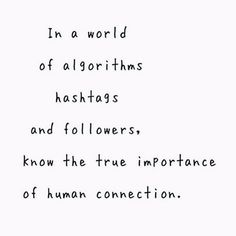 human connections <3