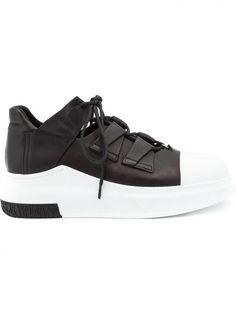 CINZIA ARAIA - Two-Tone Sneaker - CA233/310 BLACK - H. Lorenzo