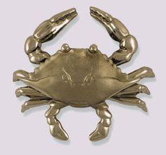 Coastal Crab Door Knocker Beach Decor | Nautical Decor | Tropical Decor | Coastal Decor