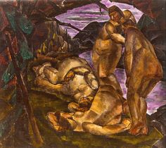 Untitled (Four Figures in the Woods), Munn