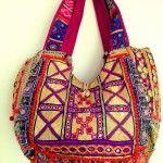 Poona Tote: Tribal bag series