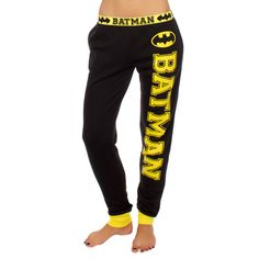 Look at this Black & Yellow Batman Joggers Pant by Undergirl - Batman Clothing - Ideas of Batman Clothing - Look at this Black & Yellow Batman Joggers Pant by Undergirl Batman Love, Batman Wonder Woman, Batman Vs Superman, Batman Stuff, Lazy Day Outfits, Cool Outfits, Nananana Batman, Batman Outfits, Batman Shoes