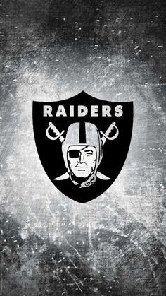 Attachment for Apple iPhone 6 wallpaper with Oakland Raiders logo
