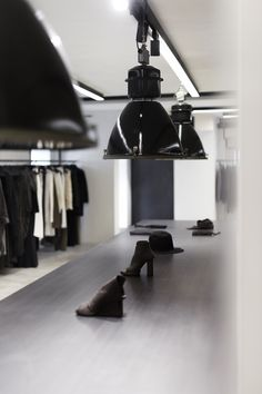 The world's finest avant-garde designers curated by Wolfensson · Fast worldwide shipping · Boris Bidjan Saberi · Rick Owens · Isaac Sellam · . Shops, Wall Lights, Ceiling Lights, Track Lighting, Vienna, Archive, Interiors, Decoration, Design
