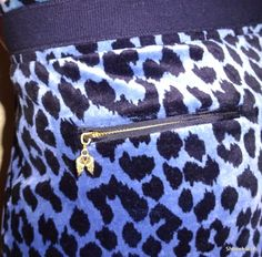 Victoria Secret velvet cheetah animal SEXY print skirt   Small     Navy Black #VictoriasSecret #ALine