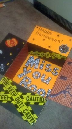 Halloween deployment care package. One of my own!