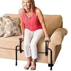 Standing From Your Favorite Couch Or Chair Made Easy! Adaptive Equipment, Medical Equipment, Occupational Therapy, Physical Therapy, Sitting Positions, Aging In Place, Assistive Technology, Elderly Care, Personal Hygiene