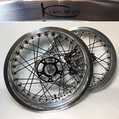 Wire wheels Kineo, beauty in every aspect. #Wheels #Motorcycle #Motorcycles #Custom #Beauty