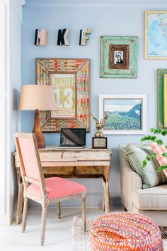 14 Ways to Make a Tiny Apartment Living Room Feel So Much Larger | Interior Design Styles and Color Schemes for Home Decorating | HGTV >> http://www.hgtv.com/design/decorating/design-101/make-your-apartment-feel-larger-pictures?soc=pinterest